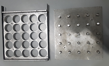 Wax Roll Moulds